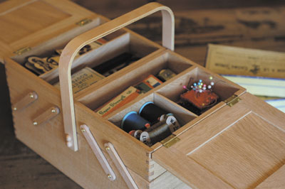 Classiky Sewing Wooden Box By Classiky 倉敷意匠 Pipit Zakka Store