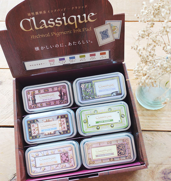 04f31c8b39a5 Tsukineko CLASSIQUE Archival Pigment Ink Pad by Tsukineko