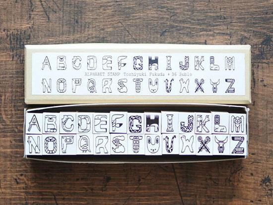36 Sublo X Alphabet Stamp SET By 36sublo