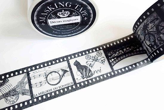 tokyo antique monotone negative film tape 30m by tokyo antique 東京